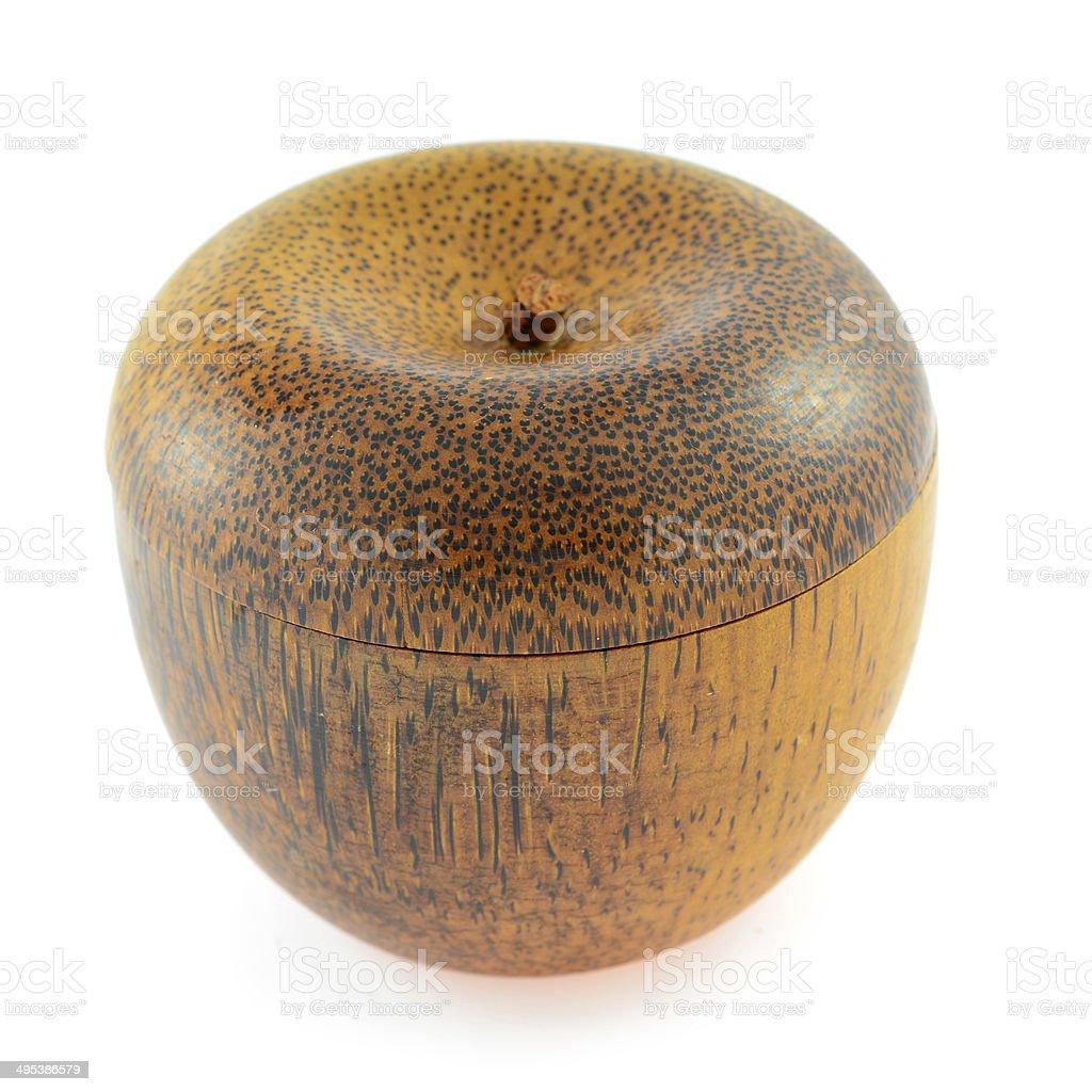 wooden bowl stock photo