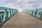 Wooden Bridge to the Sky