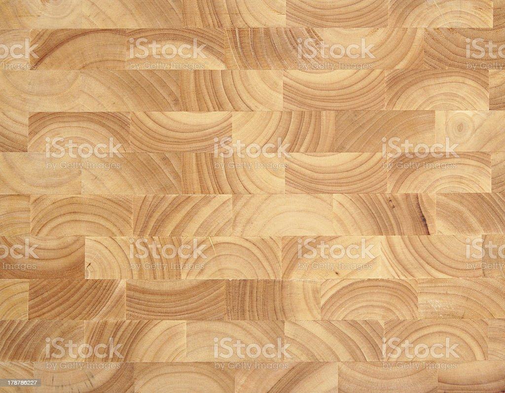 Wooden Butcher's Block Background stock photo