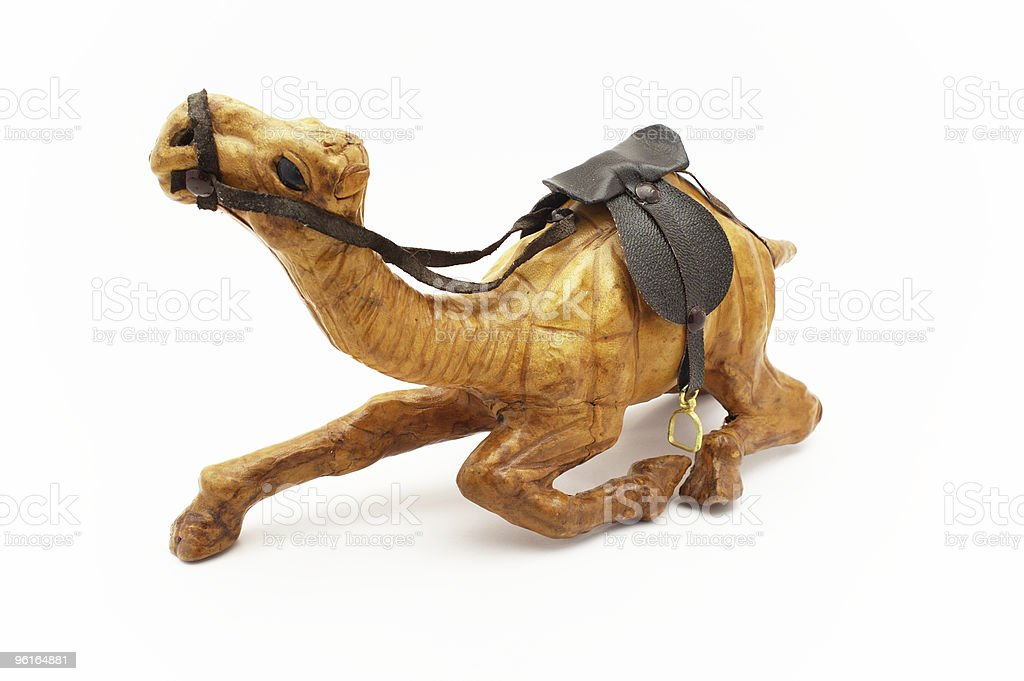 Wooden camel royalty-free stock photo