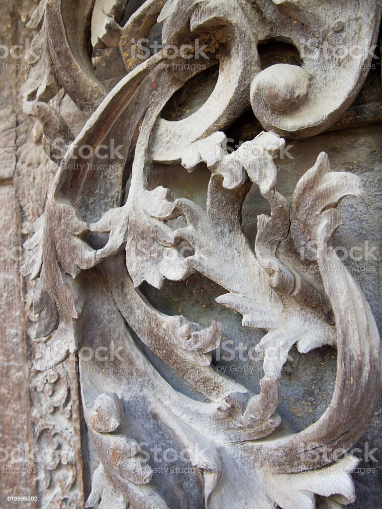 Wooden Carving stock photo