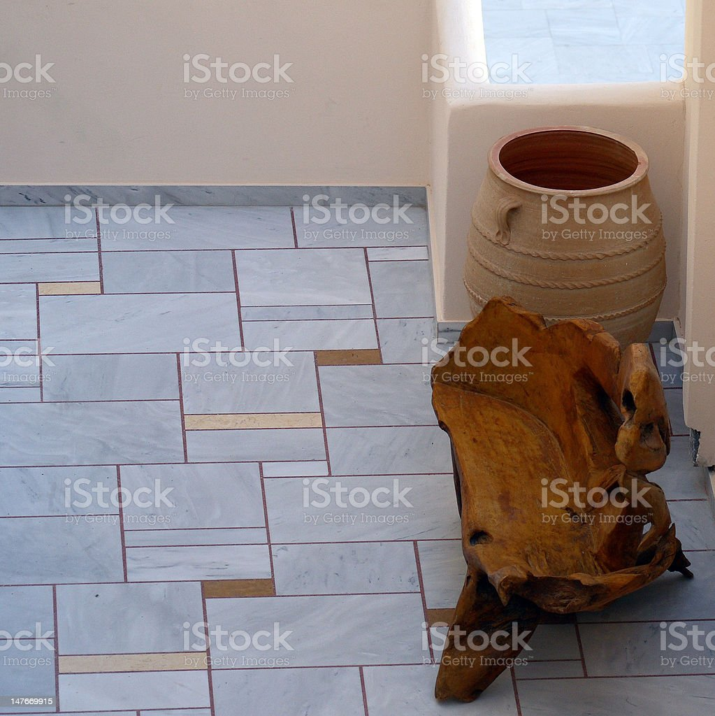 Chais'en bois photo libre de droits