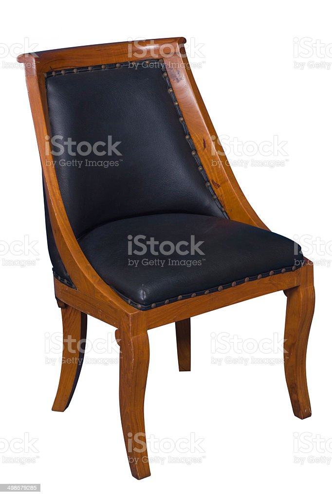 Wooden Chair royalty-free stock photo