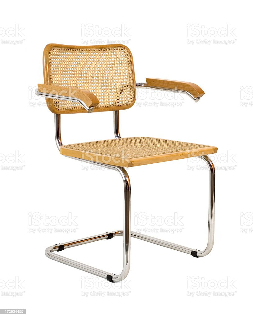 Wooden Chair w/Clippping path stock photo