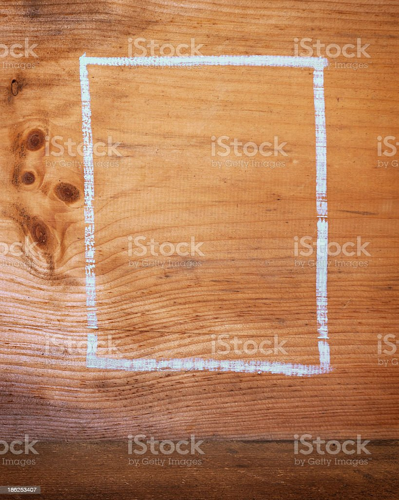 Wooden Chalk Board Background royalty-free stock photo