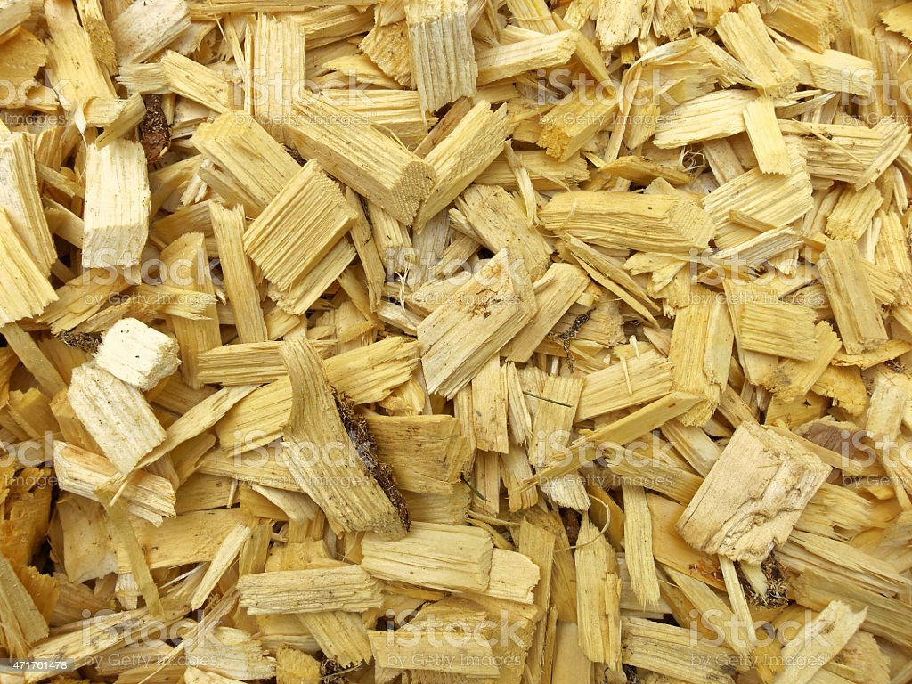 wooden chips background stock photo