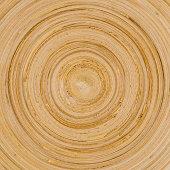 Wooden circle pattern