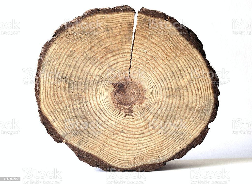 wooden circle royalty-free stock photo