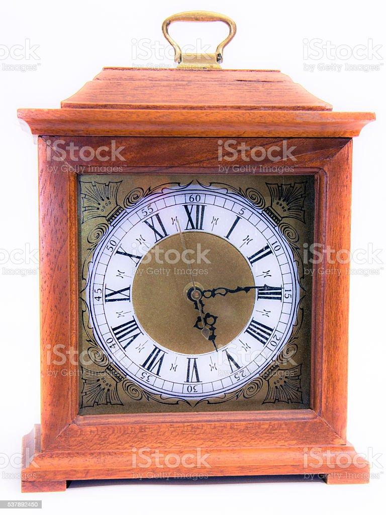reloj madera stock photo