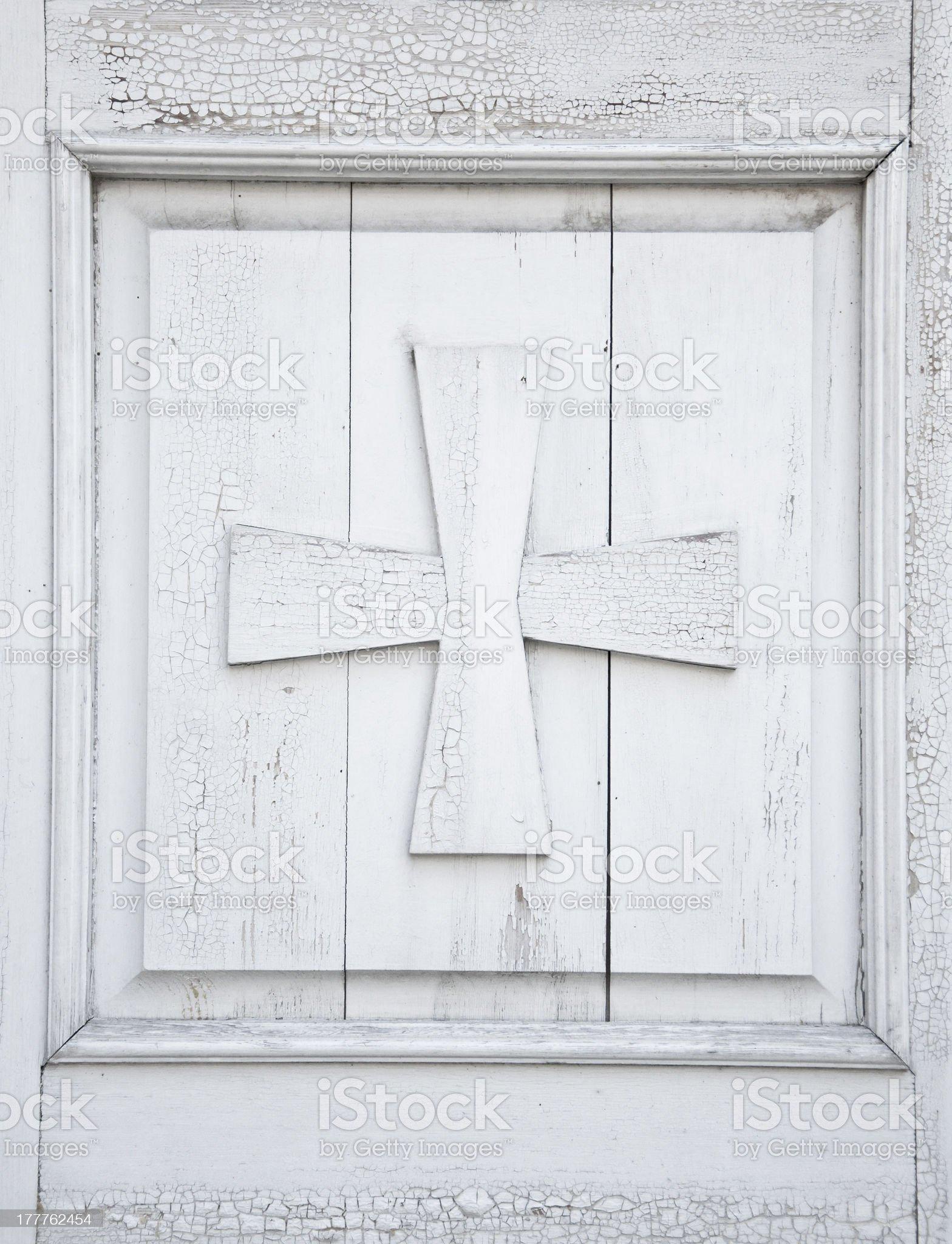 Wooden Cross royalty-free stock photo