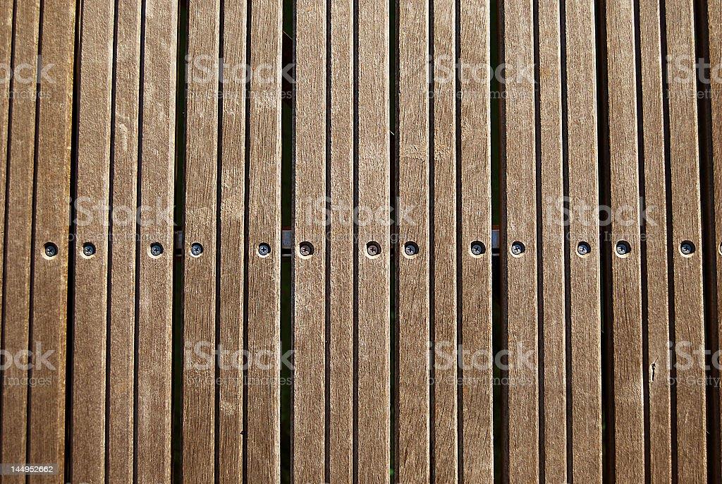 Terrass'en bois photo libre de droits
