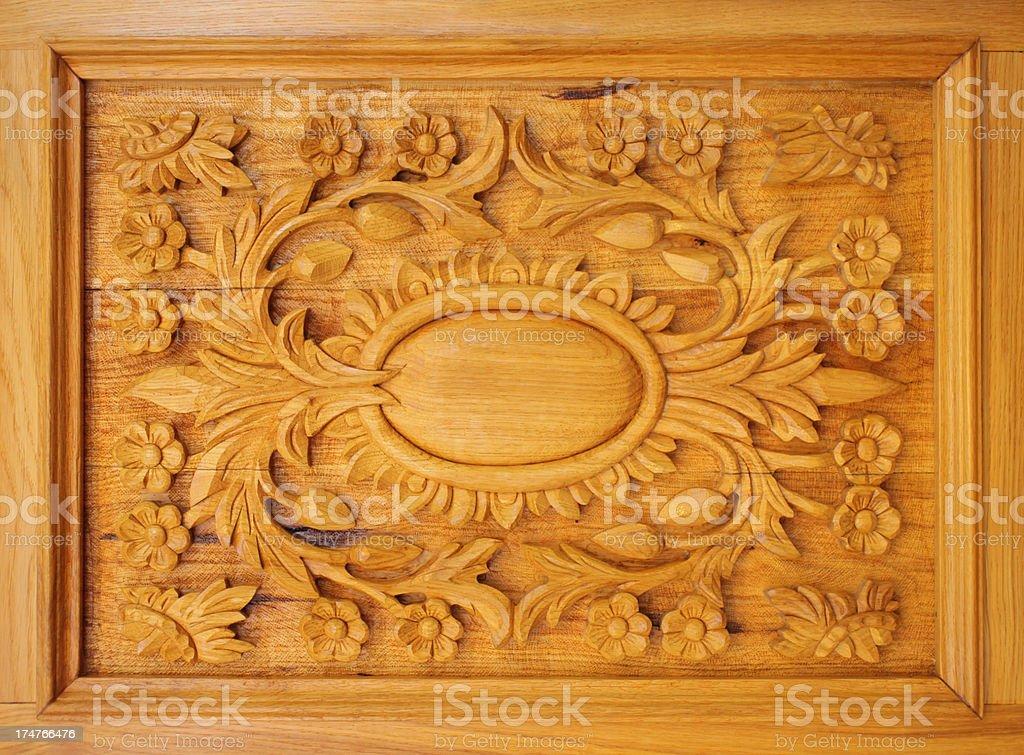 Wooden Detail royalty-free stock photo