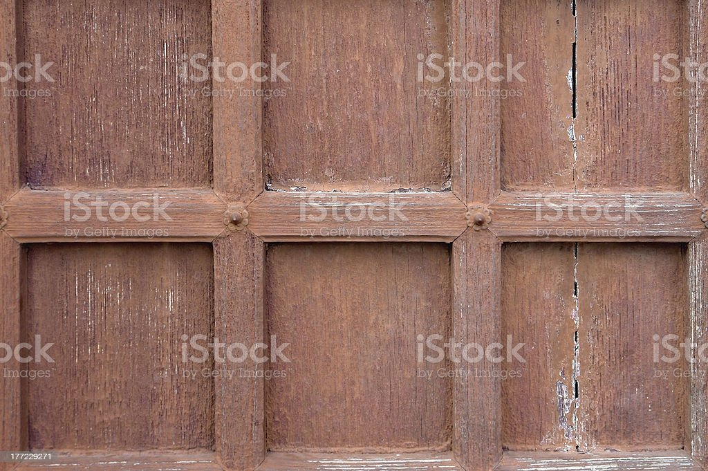 wooden detail stock photo