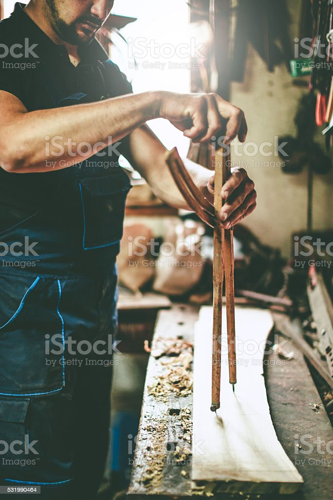 wooden divider stock photo