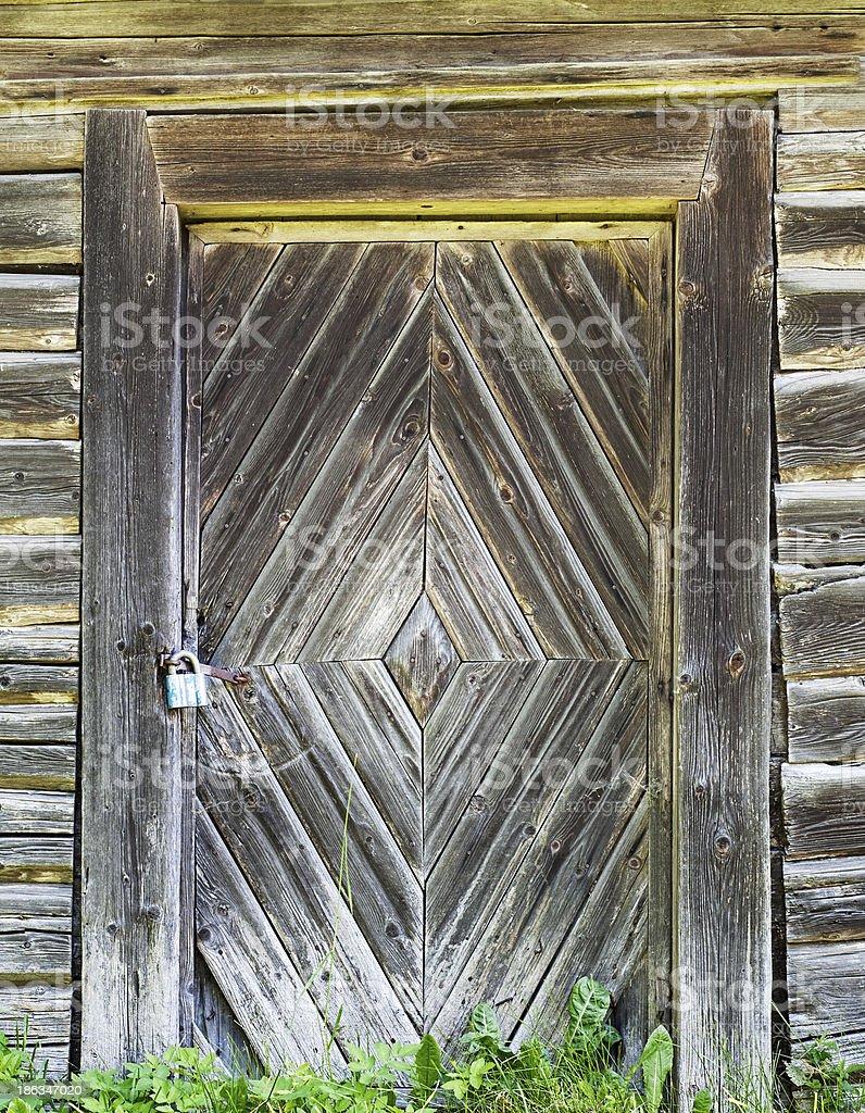 wooden door background royalty-free stock photo