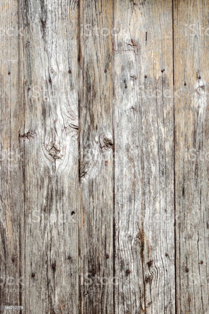 wooden door of an old barn stock photo