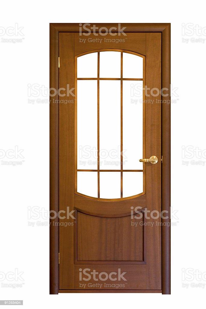 wooden door #9 royalty-free stock photo