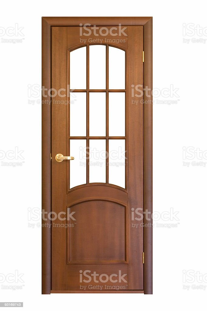wooden door #11 royalty-free stock photo