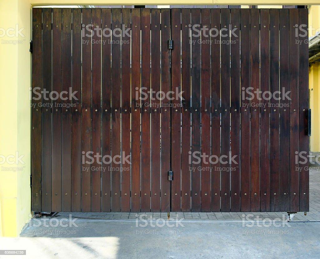 Wooden door vintage and blackground photo stock stock photo