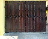 Wooden door vintage and blackground photo stock