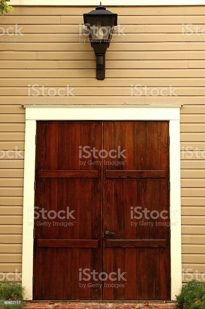 Wooden Doors stock photo