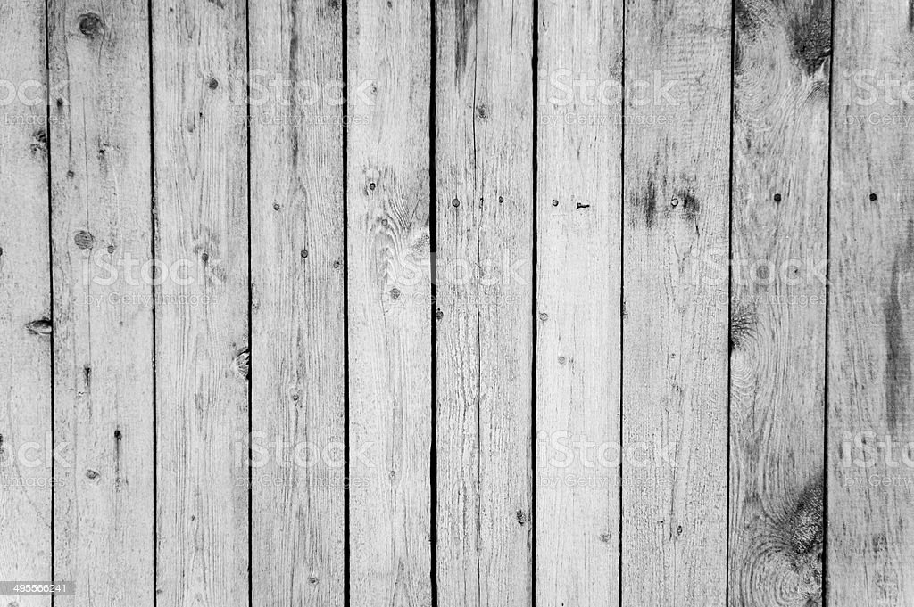 Wooden fence panels royalty-free stock photo