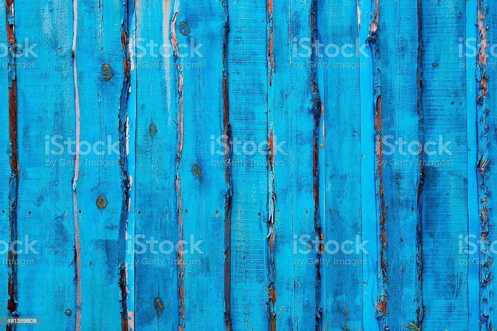 Wooden fence (background) stock photo