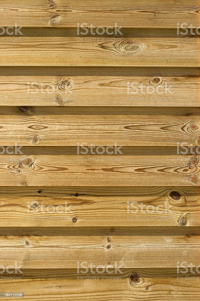 Wooden fencing panels royalty-free stock photo