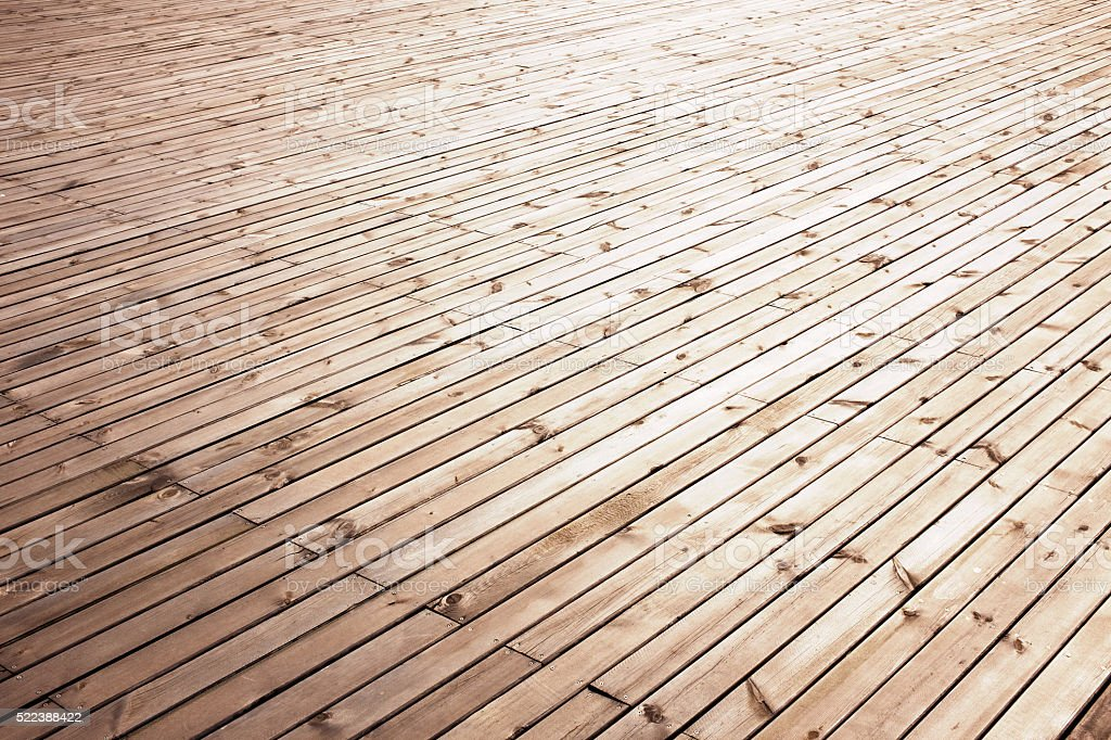 Wooden floor background texture stock photo