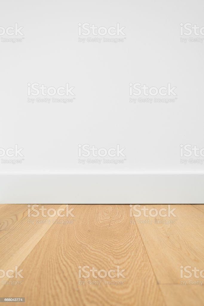 wooden floor macro - parquet floor closeup stock photo