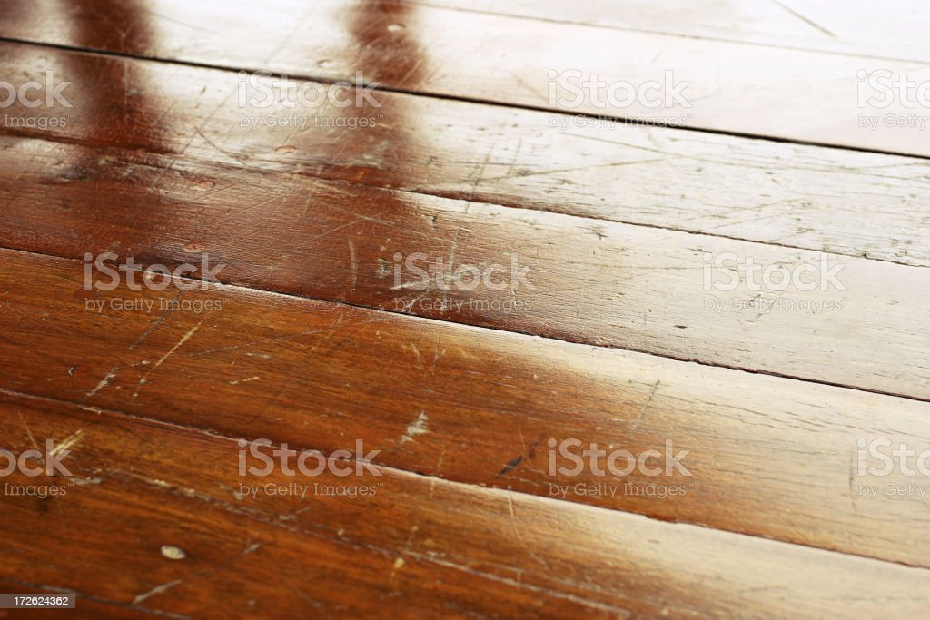 Wooden Floor stock photo