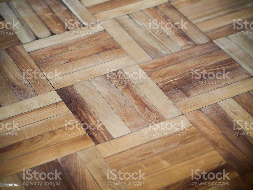 Wooden Flooring stock photo