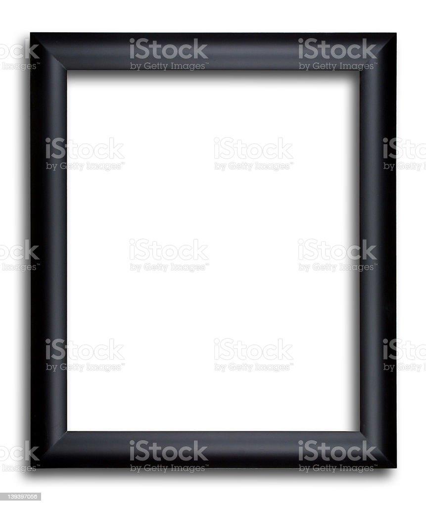Wooden Frame Black stock photo