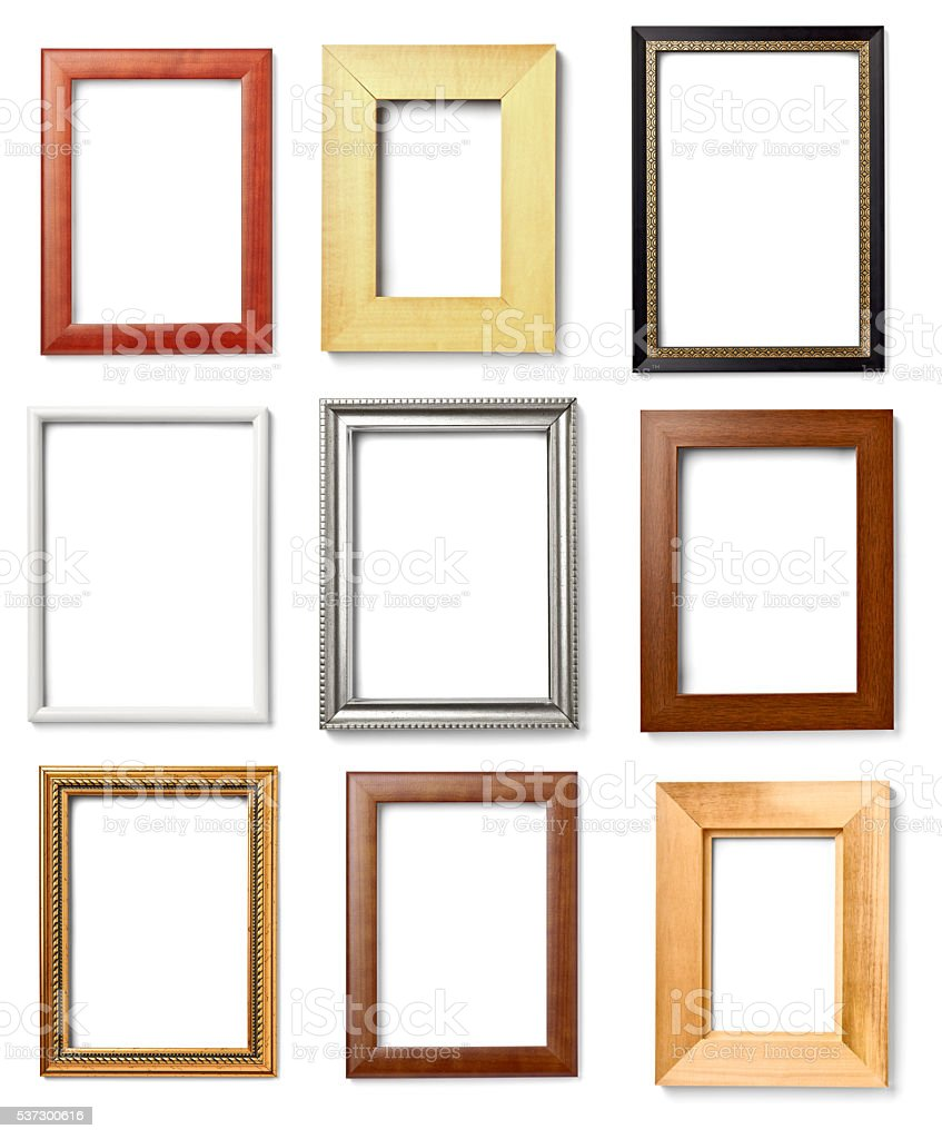 wooden frame grunge stock photo
