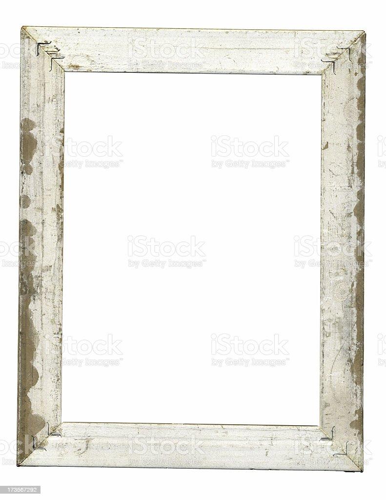 Wooden frame stock photo