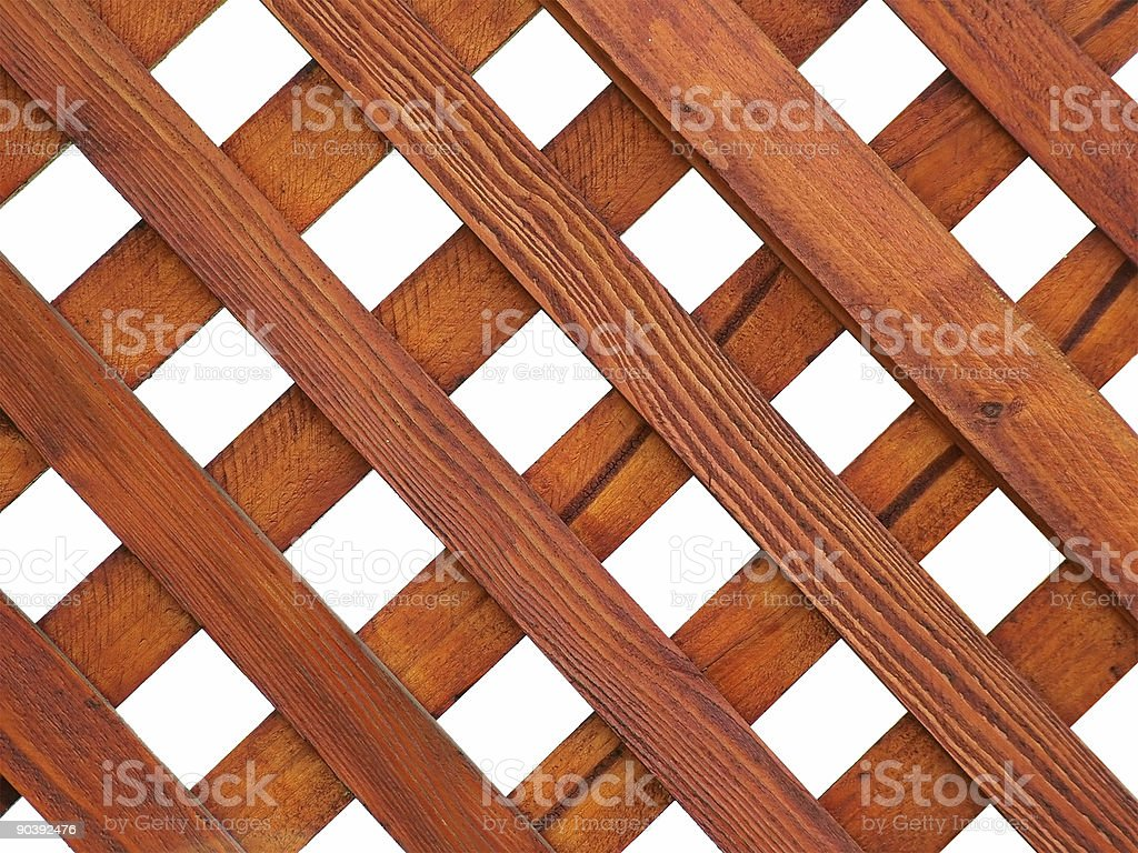 Wooden Grid royalty-free stock photo