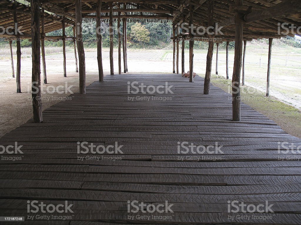 Wooden house #1 royalty-free stock photo