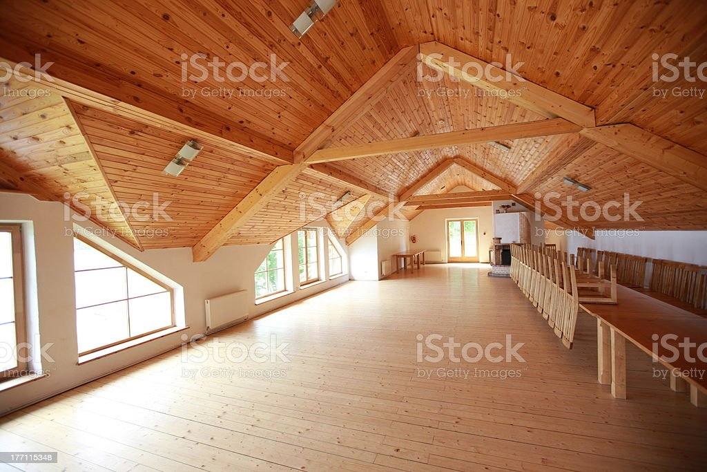 Wooden house royalty-free stock photo