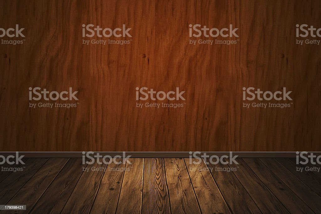 wooden interior royalty-free stock photo