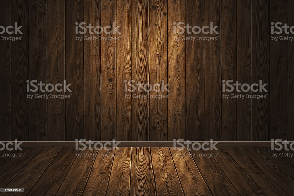 wooden interior royalty-free stock photo