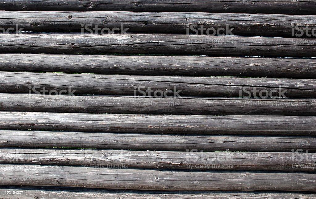Wooden Log royalty-free stock photo