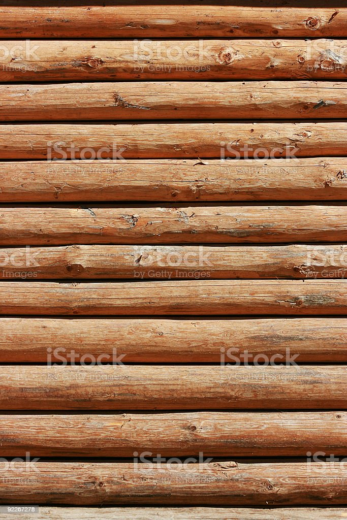 wooden Log royalty-free stock photo