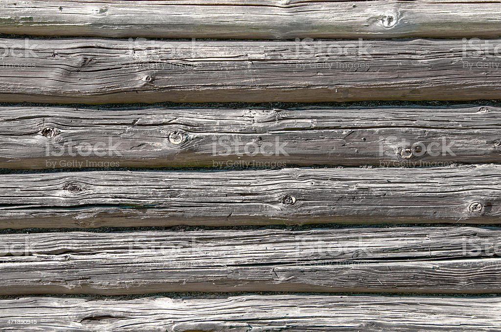 Wooden logs background. Wood texture royalty-free stock photo
