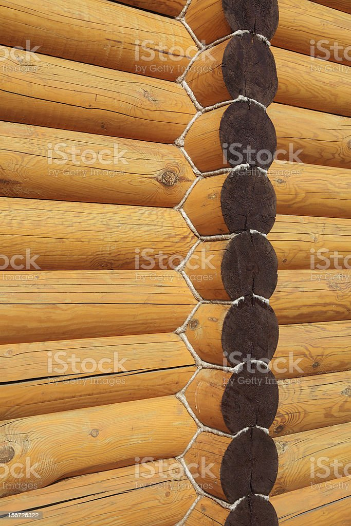 wooden logs royalty-free stock photo