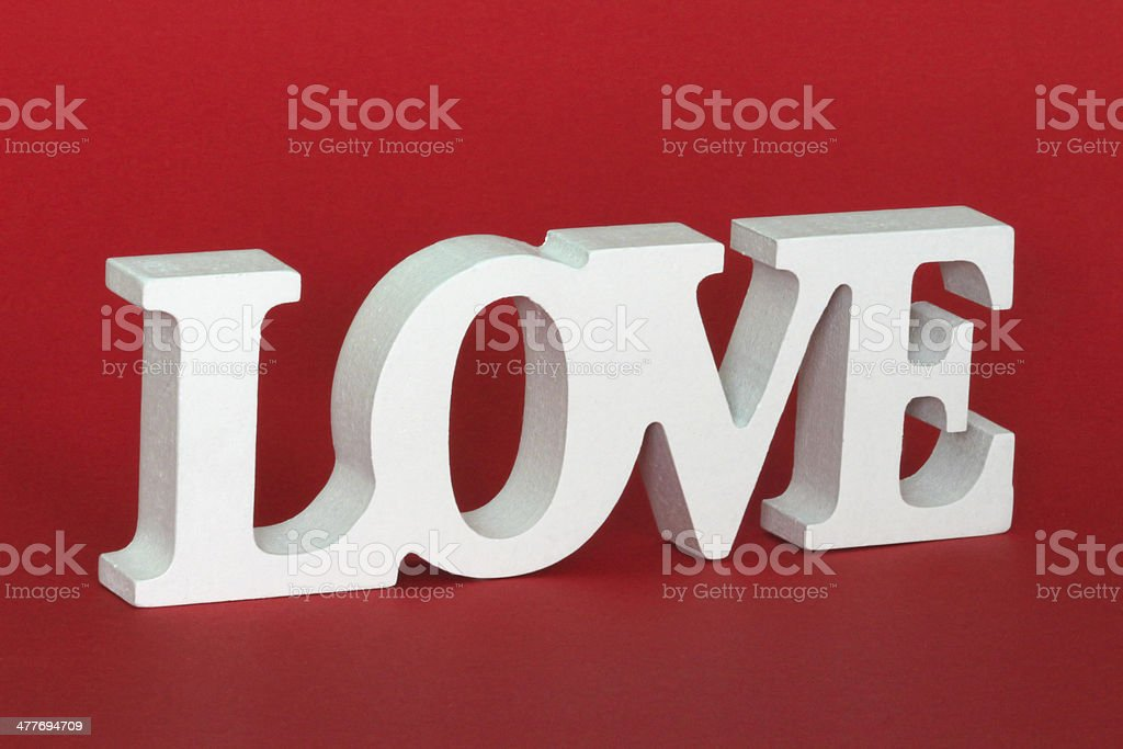 Wooden Love royalty-free stock photo