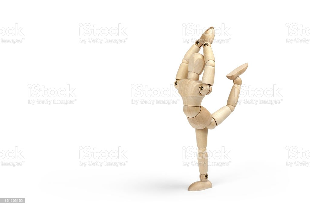 Wooden mannequin royalty-free stock photo