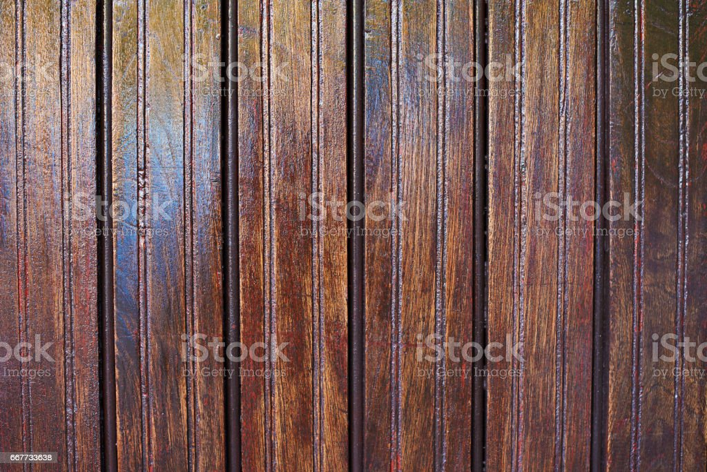 Wooden old panels stock photo