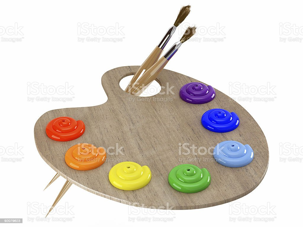 wooden palette royalty-free stock photo