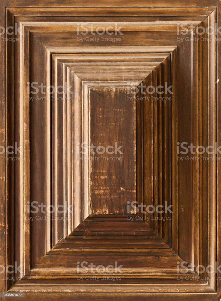 Wooden Panel stock photo