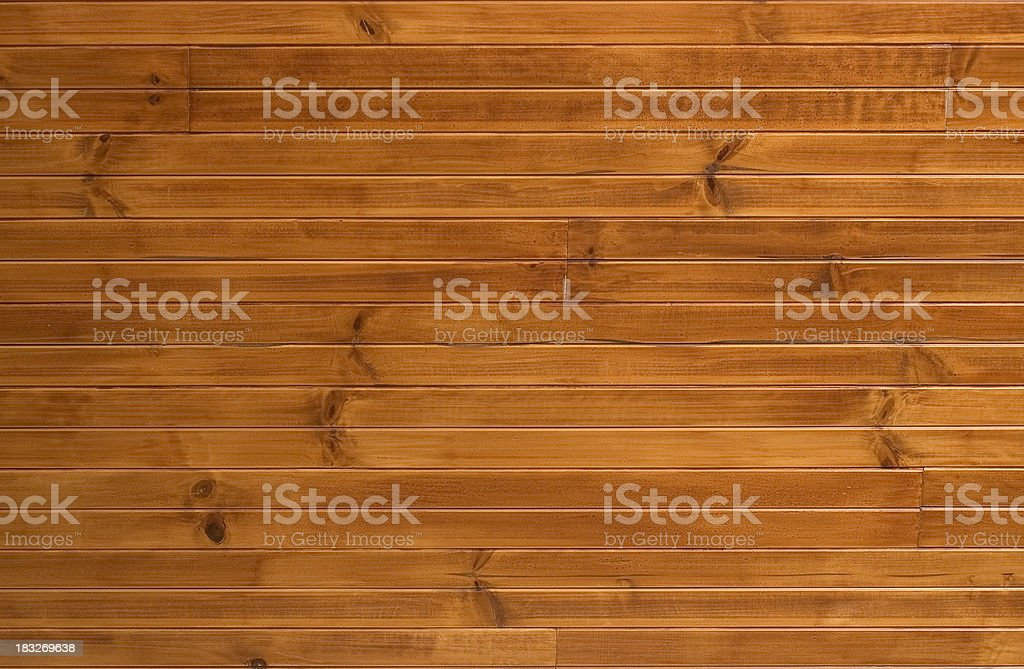 Wooden Panelling stock photo
